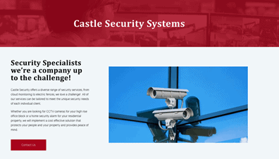 castle security systems
