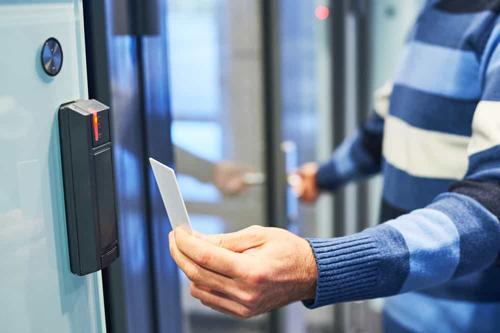 contactless security products for businesses