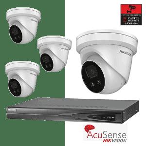 Castle Surveillance 4 Acusense - Hikvision Thumbnail