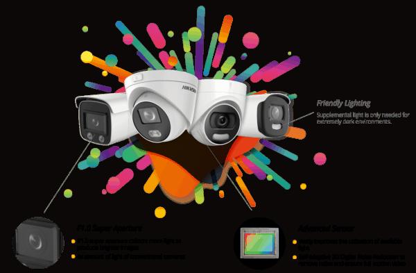 Castle Surveillance 4 ColorVu - Hikvision Thumbnail
